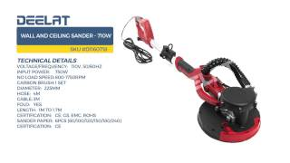 Wall and Ceiling Sander - 600W