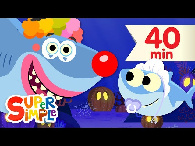 Baby Shark Halloween | + More Kids Songs for Halloween | Super Simple Songs