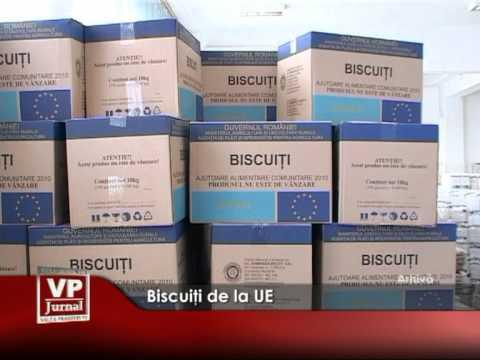 Biscuiţi de la UE