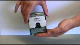 Re-inking and Removing Ink Pads from Self Inking Stamps