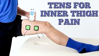 How to Use a TENS Unit With Inner Thigh Pain. Correct Pad Placement