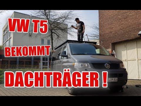 T5 bekommt endlich den Offroad Dachträger ! - FRONTRUNNER Slimline ll #Teil11 | ItsMarvin