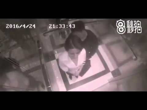 Woman defends herself against sexual assault in China in an elevator