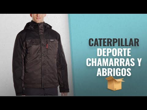 Top 10 Ventas Caterpillar 2018: Caterpillar Men's Insulated Twill Jacket