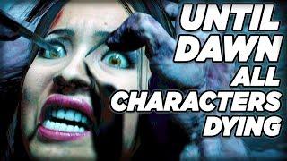 Characters Deaths **SPOILERS!!!** - Until Dawn