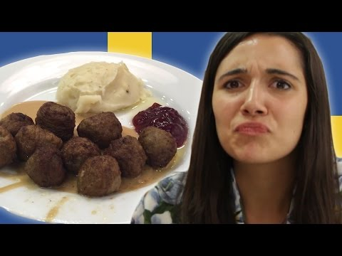 People Try Ikea Food