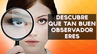 Eres un buen observador? Descubre que tan buen observador (o observadora) eres con este divertido test! ↠↠ ¡No te olvides de suscribirte para no perderte ...