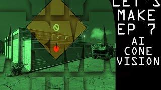 Arma 3 - Let's Make! Ep. 7 - AI 'Cone' Vision (Steal a Car #2)