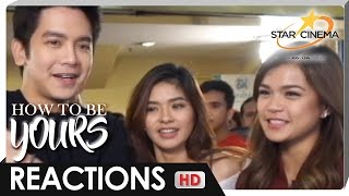 Reactions | LoiShua, Maris on 'How To Be Yours'
