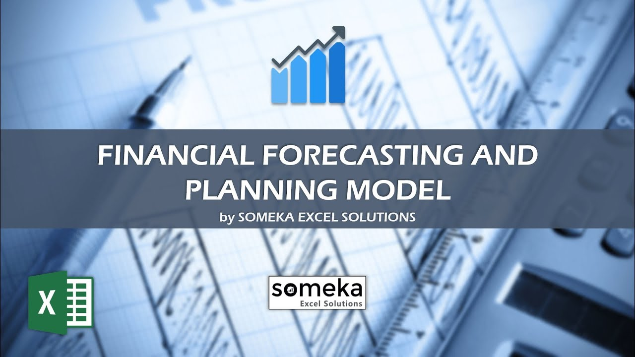 Financial Forecasting and Planning Model - Someka Excel Template Video