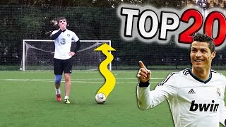 ТОП 20 хитрых ударов наклбол | TOP 20 crazy knuckleballs