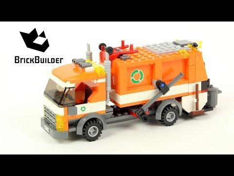 Vidéo LEGO City 7991 : Le camion-poubelle
