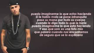 Fanatica Sensual Remix (Letra) - Plan B Ft. Nicky Jam (Video Letra) REGGAETON 2015