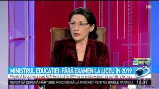 Ministrul Educaţiei: Fără Examen La Liceu în 2019