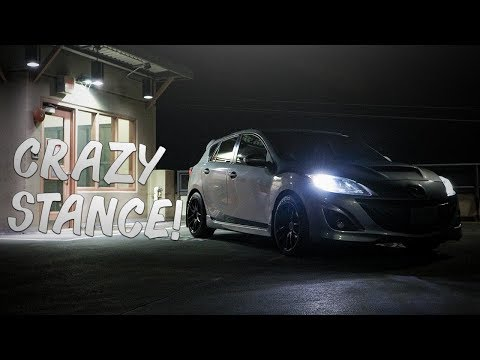 THE MAZDASPEED 3 GOES WIDE! | Mazda 3 Wheels On The Speed 3!