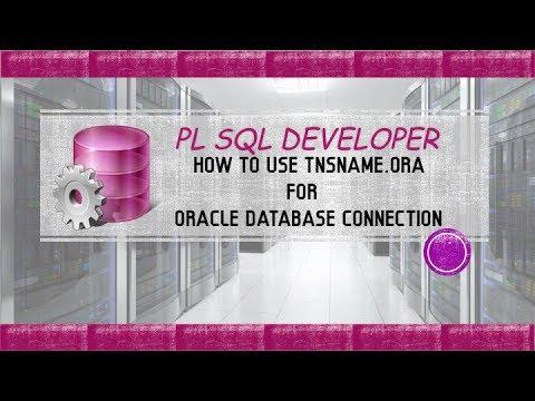 pl sql developer – connect to oracle 12c database using pl sql developer with tnsnames.ora