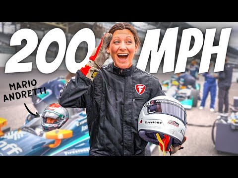 I rode with the WORLD'S GREATEST RACE CAR DRIVER (INSANE Indy 500 experience!)