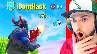 Reacting to the ULTIMATE HACKERS in Fortnite!