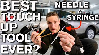 Best Car Paint Touch up Tools Tips Tricks with Needle and Syringe Subaru Outback