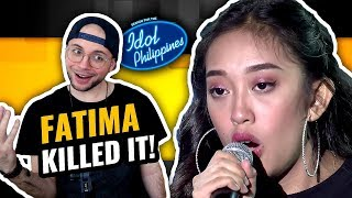 Fatima Louise - Feeling Good | Solo Round | Idol Philippines | MUSIC PRODUCER REACTION
