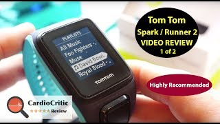 TomTom Runner 2 Review - Cardio + Music - GPS sports watch with on-board music (TomTom Spark)