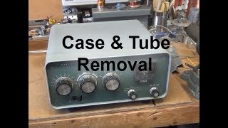 SB200 Linear Amplifier - Tube & Case Removal