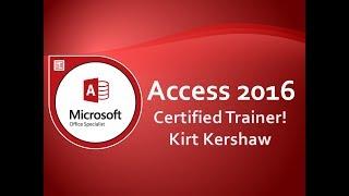Access 2016 Queries: Setting Query Criteria