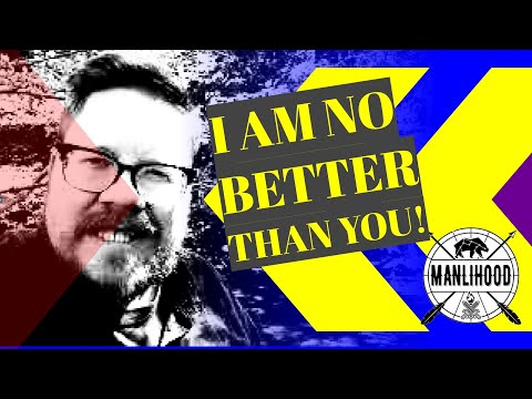 Who am I to tell you what to do? I am no better than you. Just listen! Josh Hatcher | Manlihood