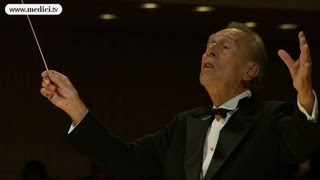 Claudio Abbado, moved after Mozart Requiem in Lucerne - 40 seconds silence