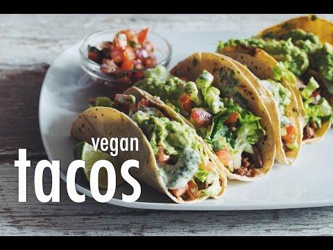 Video EASY VEGAN TACOS   hot for food