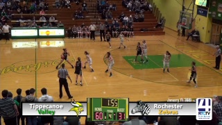 Tippecanoe Valley Girls Basketball vs Rochester