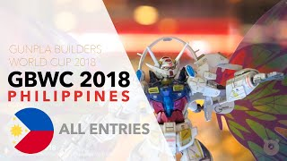 GBWC 2018 Philippines - All Entries to the local Gunpla Builders World Cup