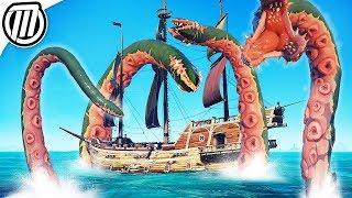 Sea of Thieves KRAKEN ATTACK! Gameplay