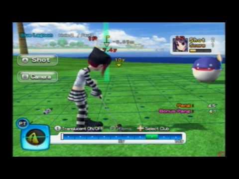 super swing golf wii cheats