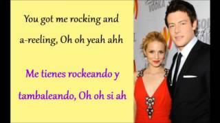 Glee: I Don't Want To Know (Lyrics + Español)