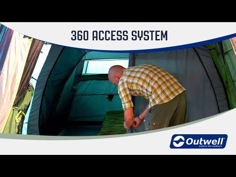 Смотреть видео Палатка Outwell Willwood 5