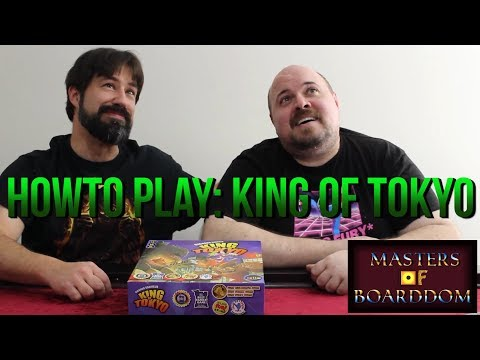 How to Play King of Tokyo - Masters of Boarddom
