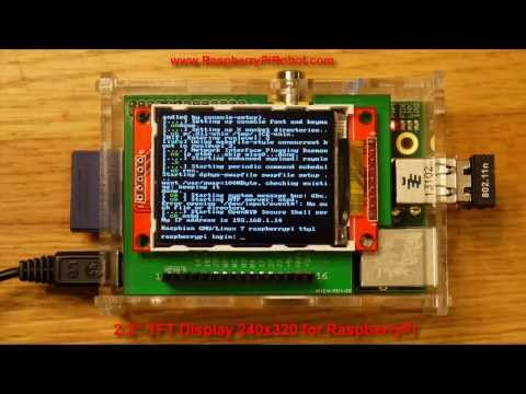 2.2 TFT Display 240x320 for RaspberryPi