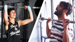 Boyfriends Try Their Girlfriends' Workouts