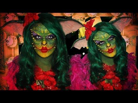 Greta the Gremlin - Gremlins 2 - Makeup Tutorial!