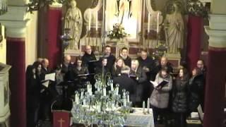 preview picture of video 'Salve Regina - Chiesa San Paolo (Stregna) - Coro San Leonardo (Udine)'