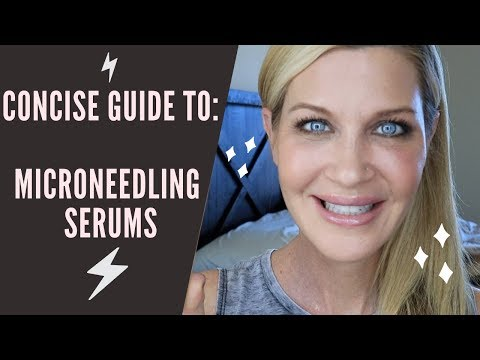 BEST Microneedling SERUMS + a protocol for the entire month after you needle!