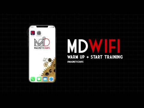 Tutorial App MD WiFi – Warm Up & Start Training