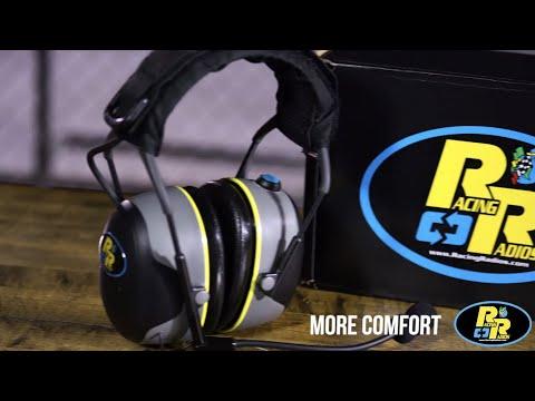 Racing Radios: Two-Way Radio Headset Feature