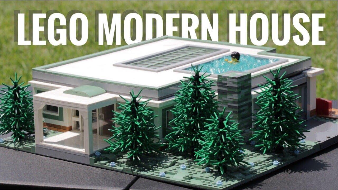 LEGO Ultra Modern Forest Home MOC Walk-Through!