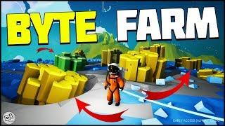 FREE BYTE FARM ! Astroneer Update 8.0 Gameplay | Z1 Gaming