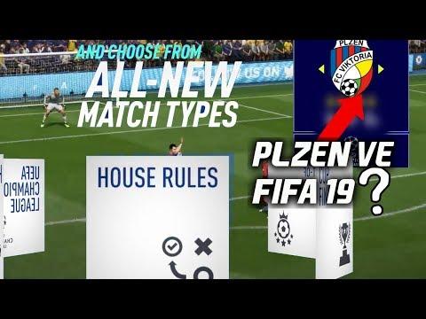 NOVÉ HERNÍ MÓDY FIFA 19! PLZEŇ POTVRZENA?