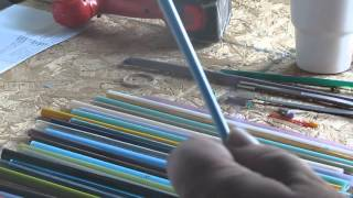 Hothead Lampworking Basics, Gather, Stringer, Twisty Cane, Bead