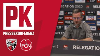 Die PK mit Tomas Oral & Michael Wiesinger | FC Ingolstadt 04 - 1. FC Nürnberg 3:1