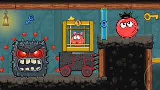 """RED BALL 4 : EPISODE 5 PERFECT """" INTO THE CAVE """" VOLUME 5 NEW ACHIEVEMENTS UNLOCKED KING TOMATO BALL"""